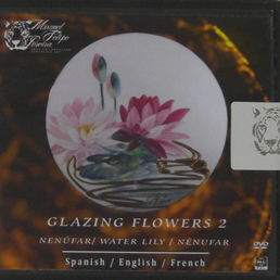 Filipe Pereiran DVD-levy Glazing flowers 2. Water lily