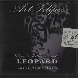 Filipe Pereiran DVD-levy. Art Filipe / Filipe's wild animals / Leopard
