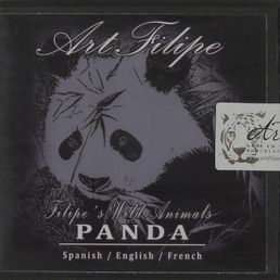 Filipe Pereiran DVD-levy. Art Filipe / Filipe's wild animals / Panda